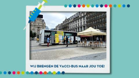 Wij brengen de Vacci-Bus naar jou toe!